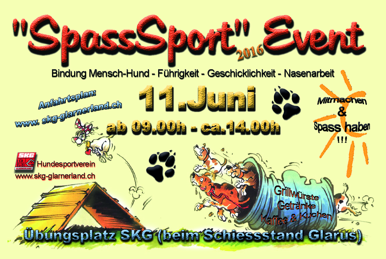 SpassSport Plauschparcour Flyer